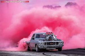 """Highway Max Coloured Smoke Burnout Drift Tyre 205/65R15"""" Pink"""