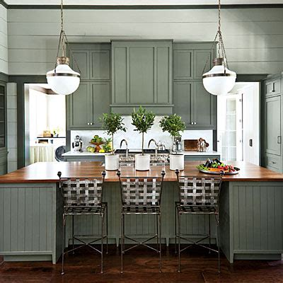 grey green kitchens paint color choices for 2013 southern living idea house 1492