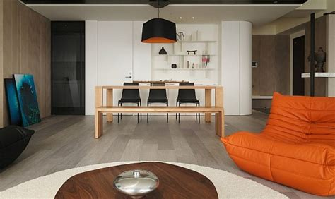 canap orange design intérieur maison 30 photos de variations en orange
