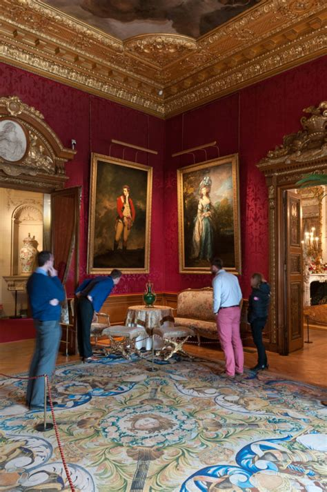 step    red drawing room opened  waddesdon