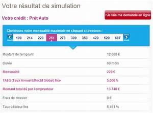 Credit Agricole Pret Auto : ma simulation sofinco cr dit en ligne ~ Gottalentnigeria.com Avis de Voitures