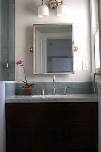 glass tile bathroom Ocean Glass Subway Tile - Subway Tile Outlet