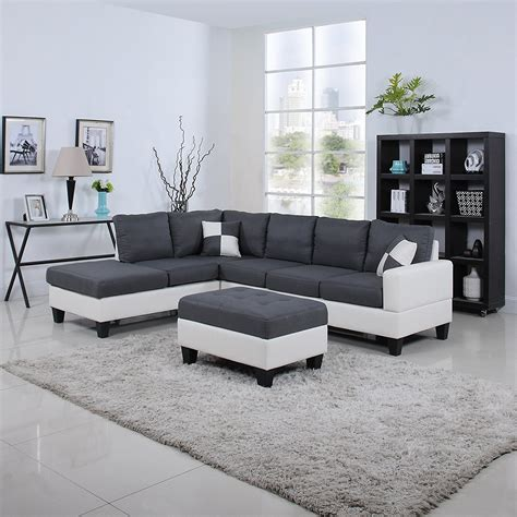 Black & White, 2 Tone Leather Living Room Sectional Sofa. Mason Jar Kitchen Lights. Best Tile Paint Kitchen. White Kitchen Island With Seating. Light For Kitchen Ceiling. Appliances For Small Kitchen. Tile Kitchen Splashbacks. Tile Decals For Kitchen. Do You Tile Under Kitchen Cabinets