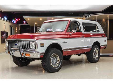 Chevrolet Blazer For Sale by 1972 Chevrolet Blazer For Sale Classiccars Cc 984221