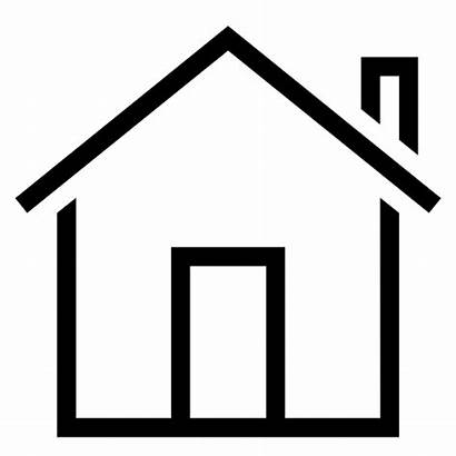 Icon Estate Stroke Property Building Outline Animated