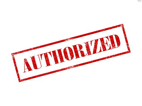 Authorized And Certified Red Stamps