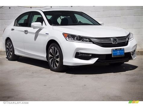 2017 Honda Accord Ex L by 2017 White Orchid Pearl Honda Accord Hybrid Ex L Sedan