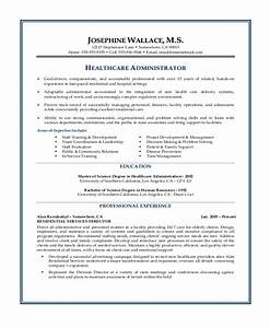 Healthcare Resume Templates Sample Objectives For Resume 8 Examples In Word Pdf