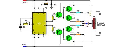 Inverter Circuit Schematic Diagram Free