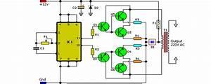 100w Inverter Circuit Schematic Circuit Diagram