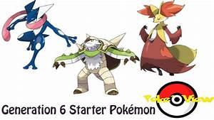 Pokemon Gen 6 Starters Names Images   Pokemon Images