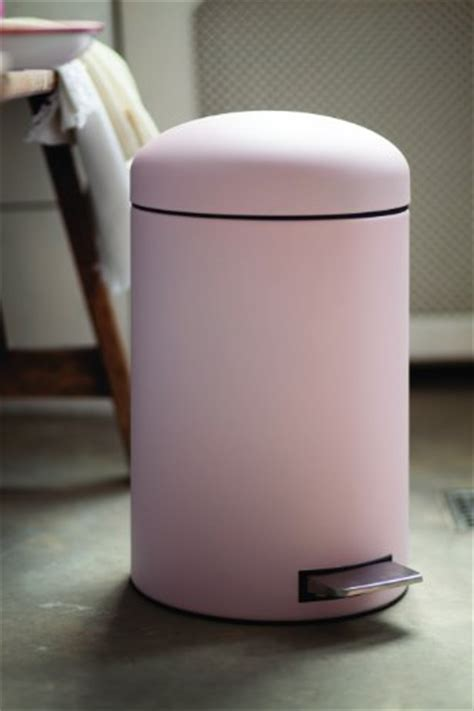 brabantia retro pink bin  litre