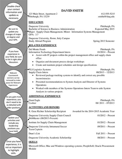 supply chain upperclass resume duquesne resume cover