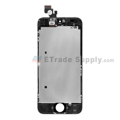 iphone 5 lcd screen replacement iphone 5 lcd and digitizer assembly with frame etrade supply