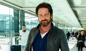 Gerard Butler Catches a Flight from Los Angeles to London ...