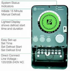 Paragon Digital Defrost Timer Manual