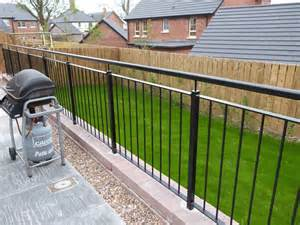 Build Railing For Deck by Garden Railings Northern Ireland Bam Fabrications