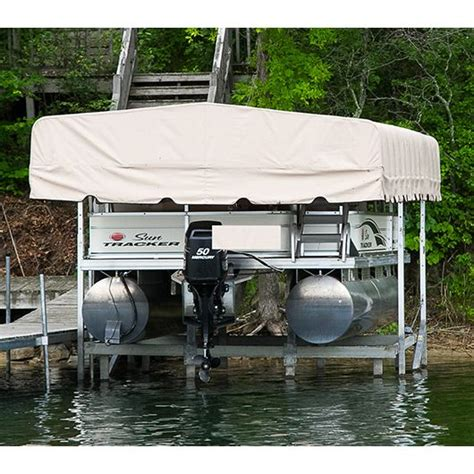 Boat Lift Canopy Covers by Rgc Boat Lift Canopy From Boatliftandcanopy Boat