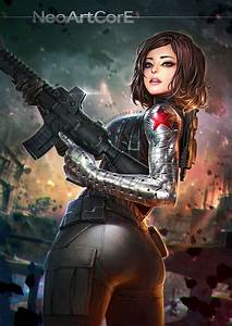 Marvel's superheroes transformed into sexy anime girls ...
