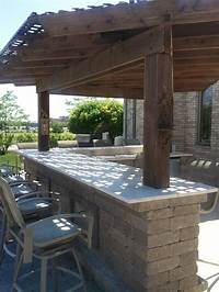 interesting small outdoor kitchen 12 best Backyard Designs: Outdoor Kitchens images on ...
