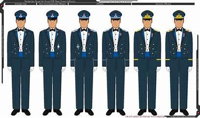 Force Uniform Air Mess Royal M39 King