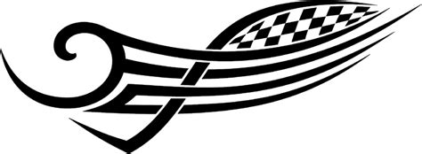 rt racing tribal graphic decal stickers customized