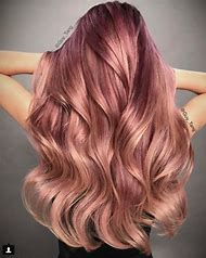 Best Rose Gold Hair Color Ideas And Images On Bing Find What You