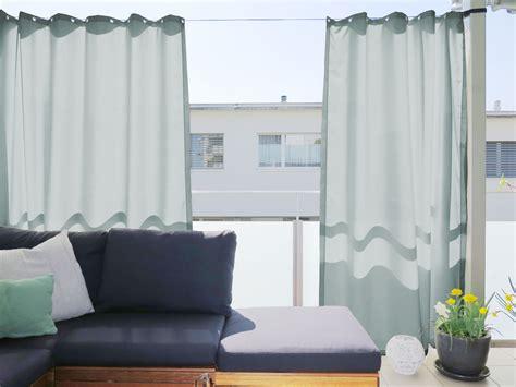 Outdoor Vorhänge Ikea by Outdoor Vorhang Santorini Nach Mass Beige Hellgrau