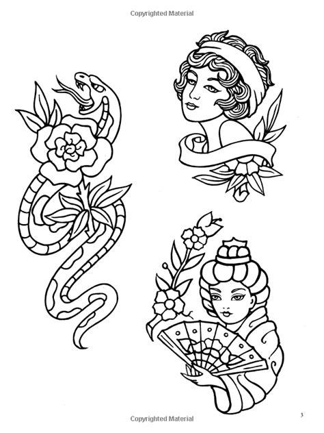 Classic Tattoo Designs: Coloring Book: Eric Gottesman   Designs coloring books, Classic tattoo
