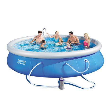 Pool Set by Bestway Fast Set Pool Set 15 X 36 Inches Contents