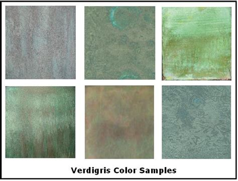 verdigris ve included more verdigris colors for your