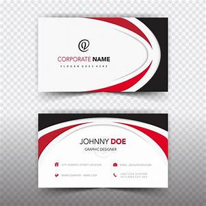 Business card template design vector free download for Business card without address