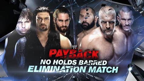 The Shield vs. Evolution - No Holds Barred Elimination ...