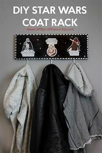 Star Wars Diy : diy star wars coat rack a little craft in your day ~ Orissabook.com Haus und Dekorationen