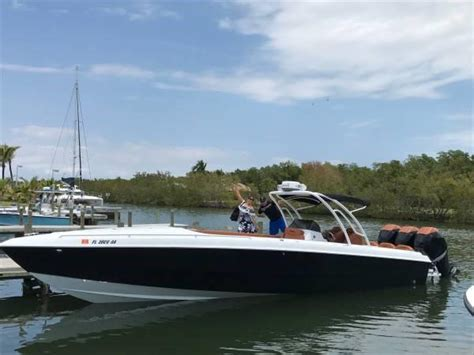 Center Console Boats For Sale In Miami by 1988 Used Scarab Wellcraft Center Console Fishing Boat For