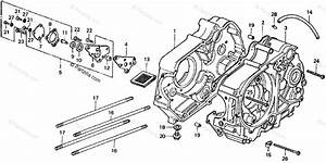 Honda Motorcycle 1977 Oem Parts Diagram For Crankcase