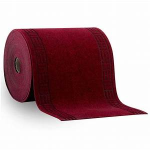 tapis au metre amortissant resistant rouge tapistarfr With tapis au metre