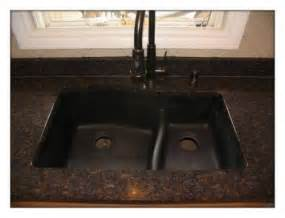 pin black granite sink holes copper kitchen sinks handicap