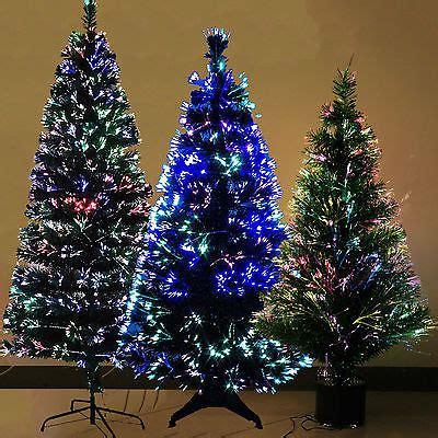 luxury fiber optic 3ft 4ft 5ft 6ft christmas tree multi
