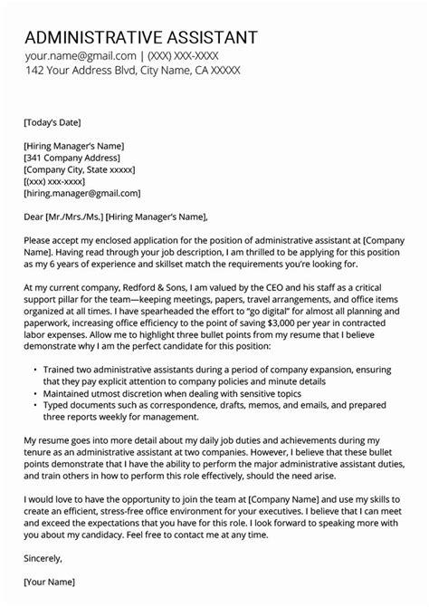 administrative assistant resume template unique
