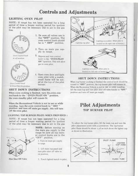 fleetwood pace arrow owners manuals magic chef rv