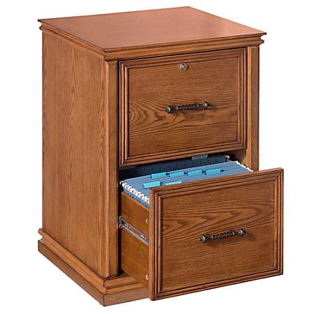10104 2 drawer wood file cabinet realspace premium wood file cabinet 2 drawers 30 h x 21 w 10104