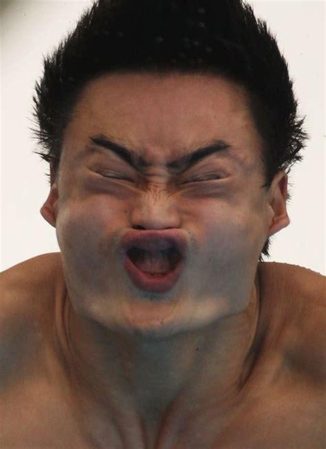 top  funniest faces    olmpics part  funny