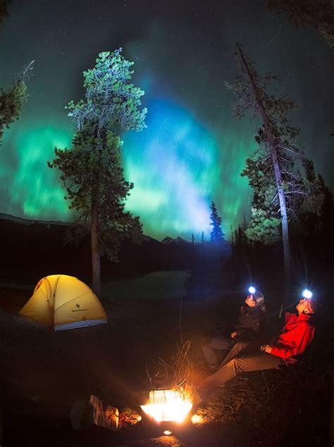 Jasper National Park Dark Sky Preserve In Alberta Canada