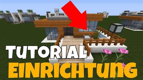 Minecraft Haus Einrichten  Möbel, Küche, Bett
