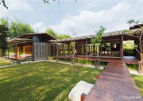 Modern Country House Among Fruit Farms  Living Asean