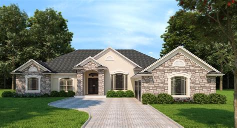 The Home Designers by Northridge 7383 4 Bedrooms And 3 5 Baths The House