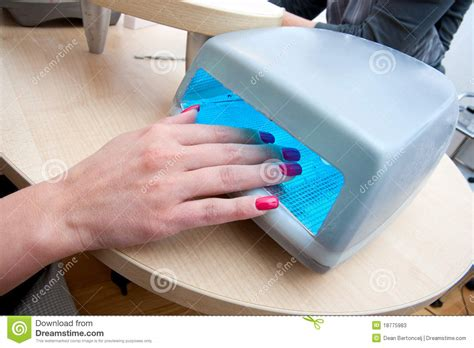 Nail Polish Dryer Stock Photos