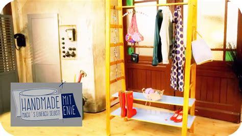 Garderobe Aus Leitern Bauen by Coole Leiter Garderobe Handmade Mit Enie Mach S