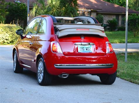 Fiat Lounge Convertible by 2012 Fiat 500c Convertible Lounge Review Test Drive